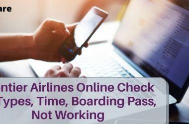 Frontier Airlines Online Check In